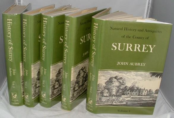 Image for Natural History and Antiquities of the County of Surrey  5 Volumes