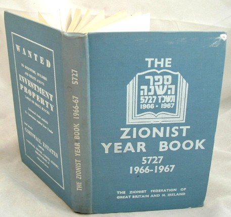 Image for The Zionist Year Book 5727 September 1966 -September 1967