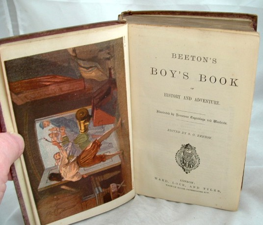 Image for Beeton's Boy's Book of History and Adventure