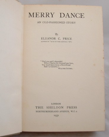 Image for Merry Dance