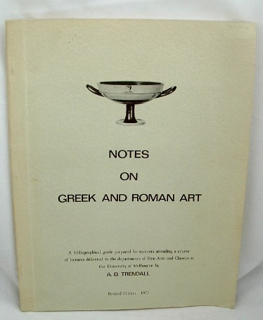 Image for Notes on Greek and Roman Art