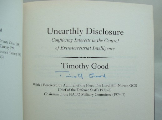Image for Unearthly Disclosure