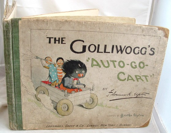 Image for The Golliwogg's Auto go Cart