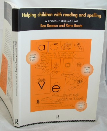 Image for Helping Children with Reading and Spelling : A Special Needs Manual