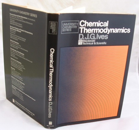Image for Chemical Thermodynamics : With Special Reference to Inorganic Chemistry