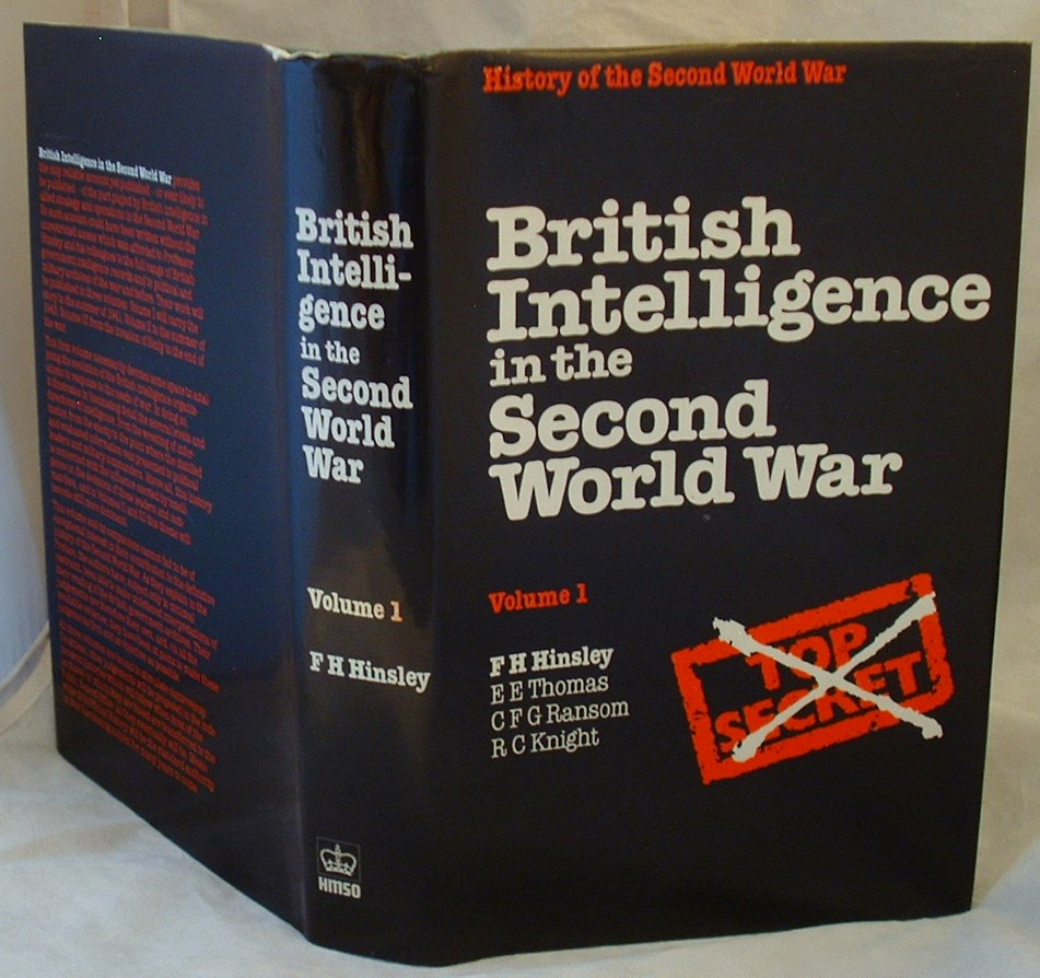 Image for British Intelligence in the Second World War Volume 1: Its Influence on Strategy and Operations