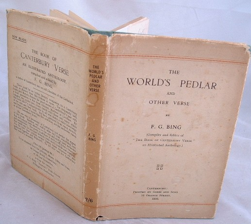 Image for The World's Pedlar and Other Verse