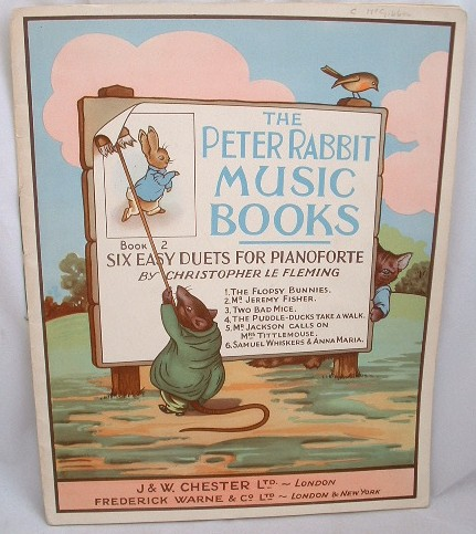 Image for The Peter Rabbit Music Books 2 Six Easy Duets for Pianoforte