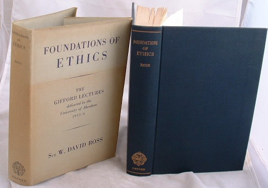 Image for Foundations of Ethics the Gifford Lectures