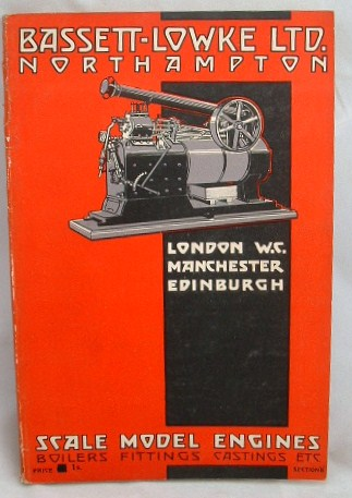Image for Bassett Lowke Ltd Scale Model Engines  Catalogue 1929