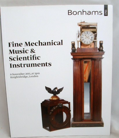 Image for Fine Mechanical Music and Scientific Instruments 9  November 2011