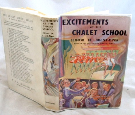 Image for Excitements at the Chalet School