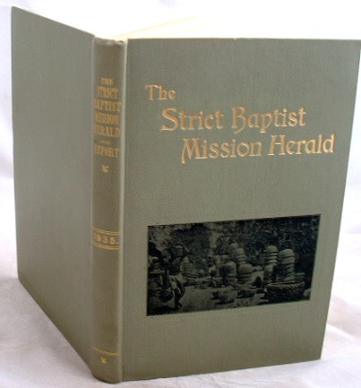 Image for The Strict Baptist Mission Herald 1935