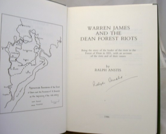 Image for Warren James and the Dean Forest Riots : Being the Story of the Leader of the Riots in the Forest of Dean in 1831, with an Account of the Riots and of Their Causes
