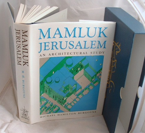 Image for Mamluk Jerusalem: An Architectural Study