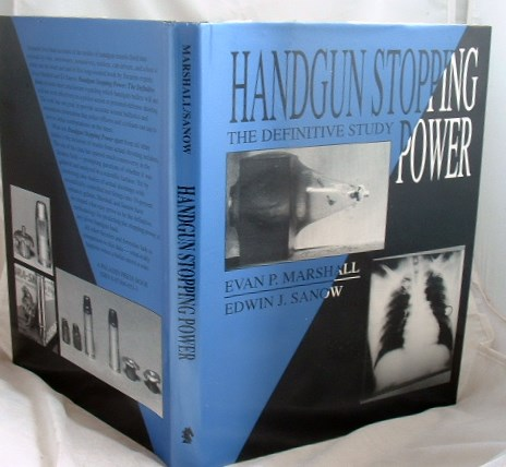Image for Handgun Stopping Power : The Definitive Study