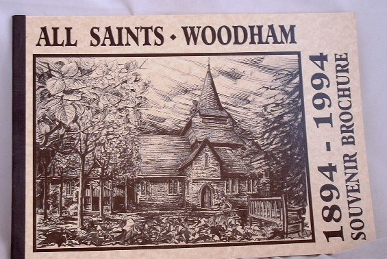 Image for All Saints Woodham 1894-1994 Souvenir Brichure