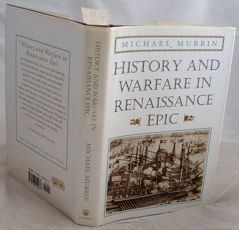 Image for History and Warfare in Renaissance Epic