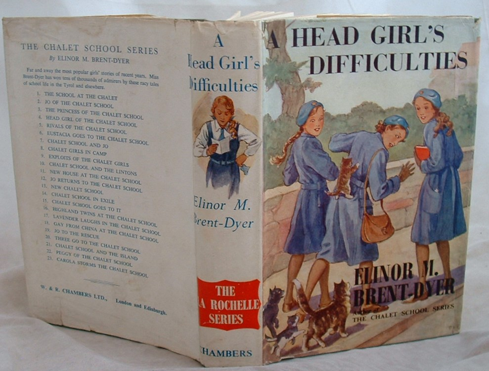 Image for A Head Grl's Difficulties