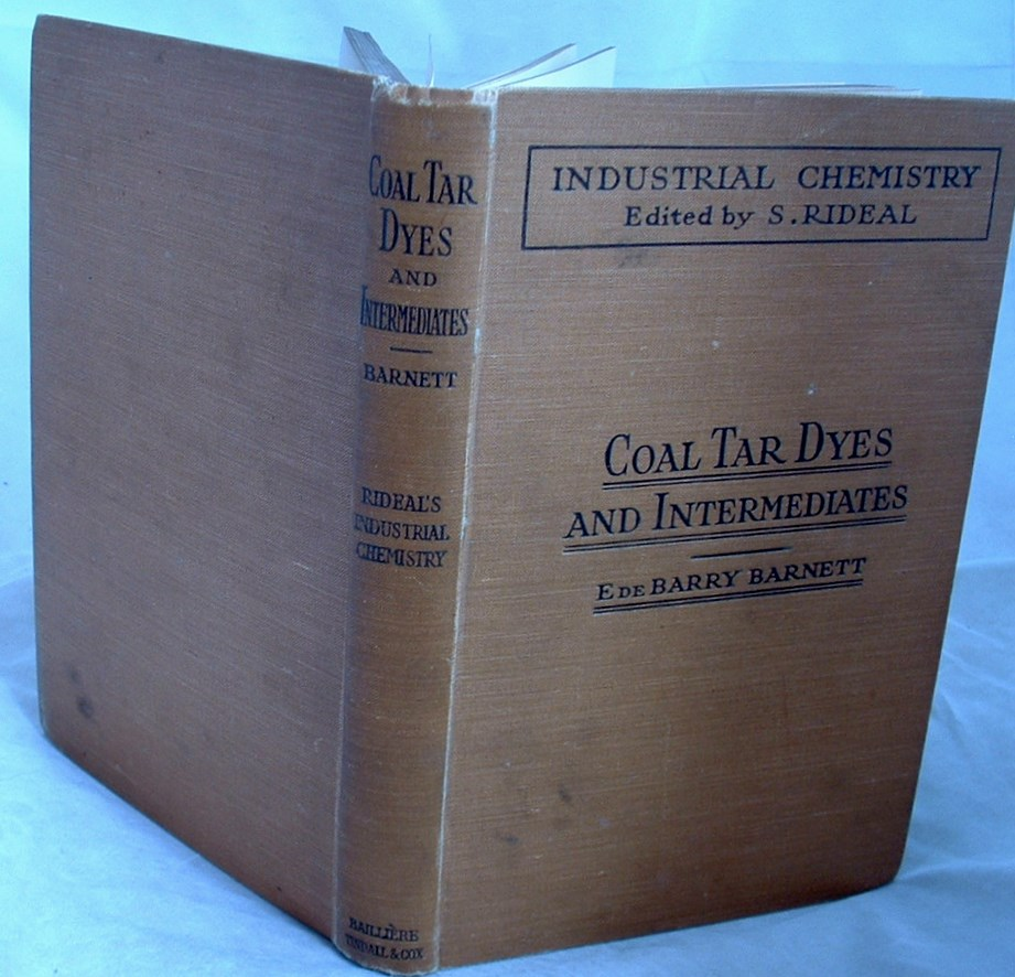 Image for Coal Tar Dyes and Intermediates