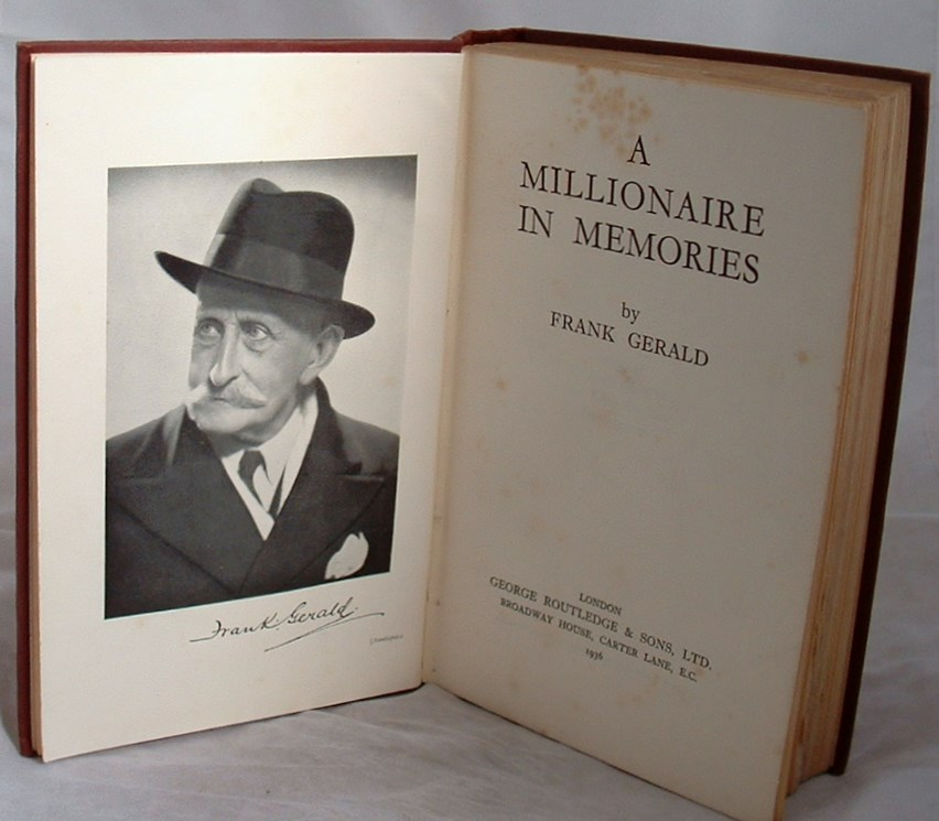 Image for A Millionaire in Memories