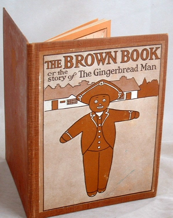 Image for The Brown Book or the Story of the Gingerbread Man