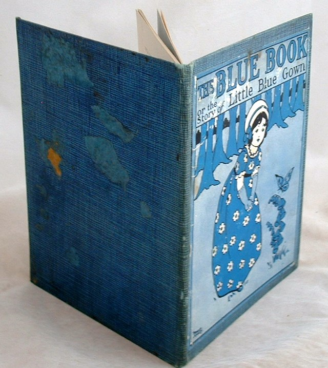 Image for The Blue Book or the Story of Little Blue Gown
