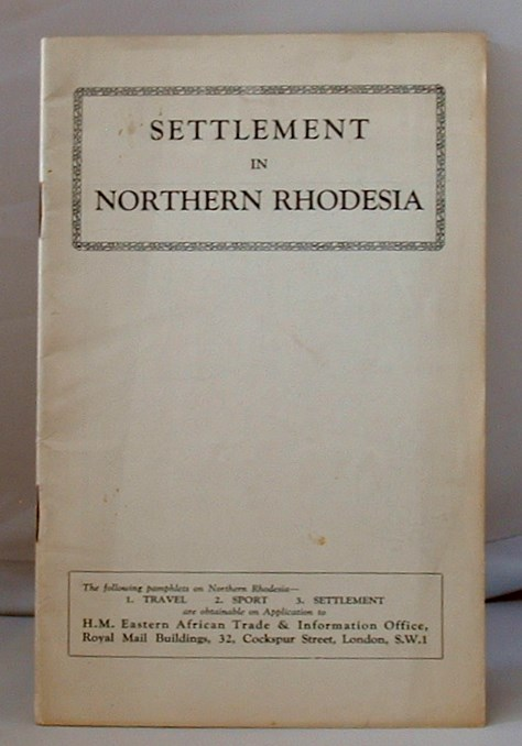 Image for Settlement in Northern Rhodesia