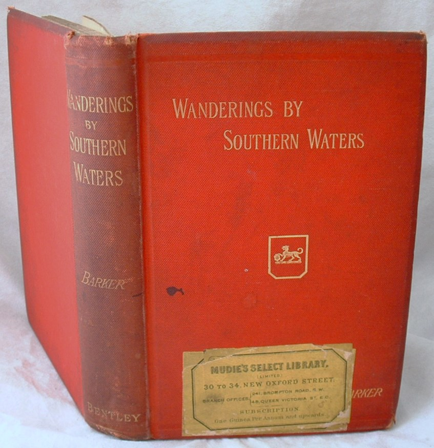 Image for Wanderings By Southern Waters Eastern Aquiaine