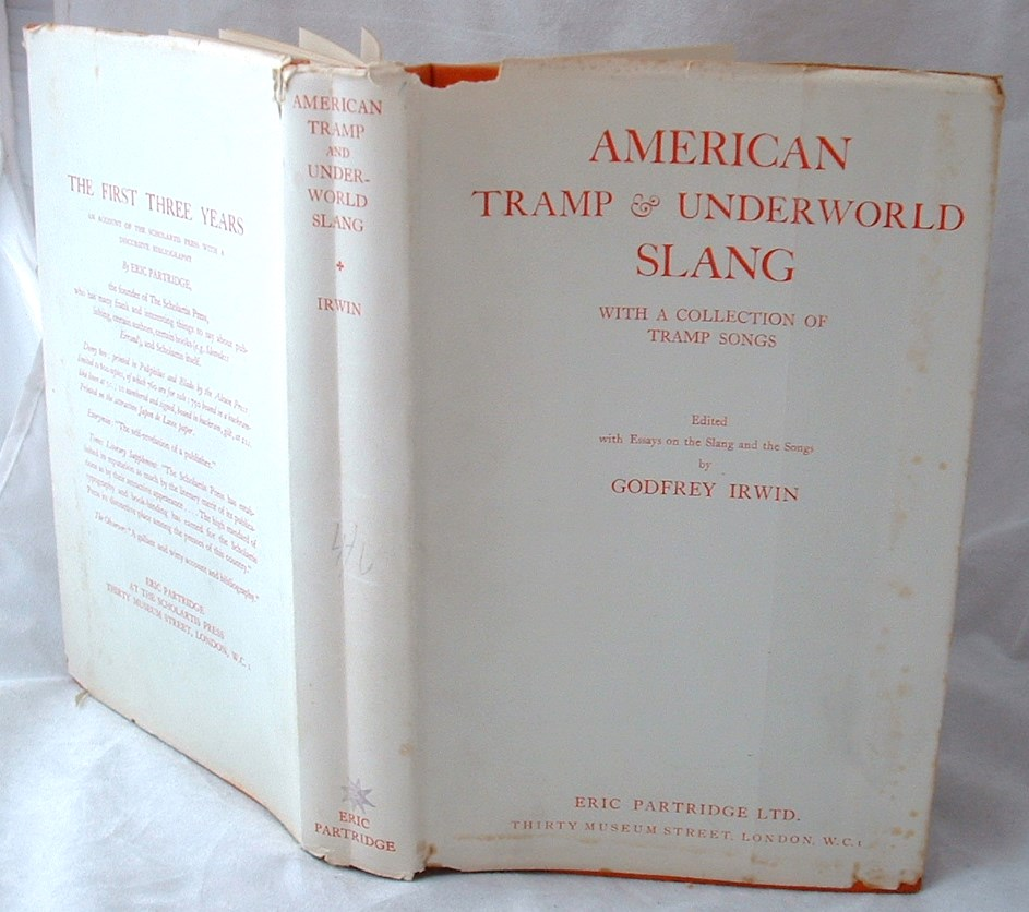 Image for American Tramp and Underworld Slang