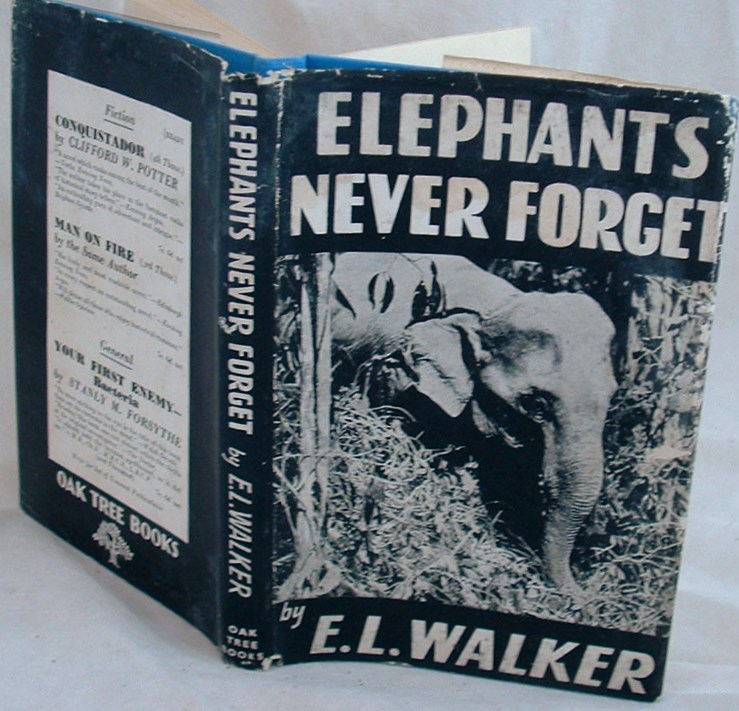 Image for Elephants Never Forget