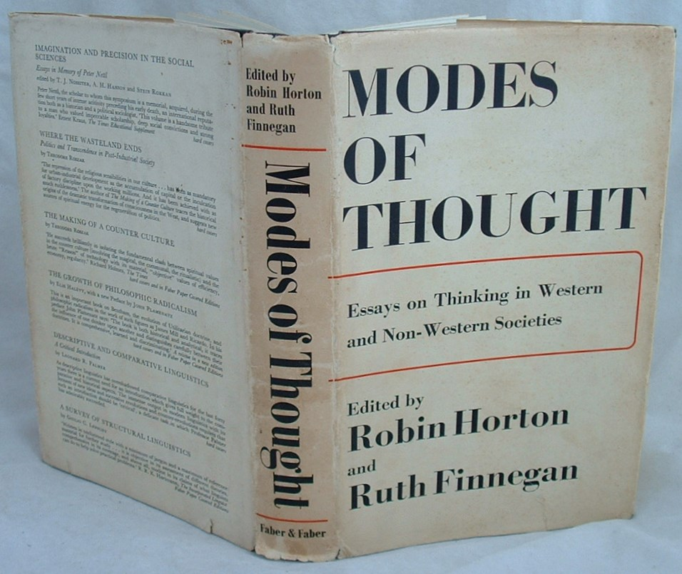 Image for Modes of Thought: Essays on Thinking in Western and Non-western Societies