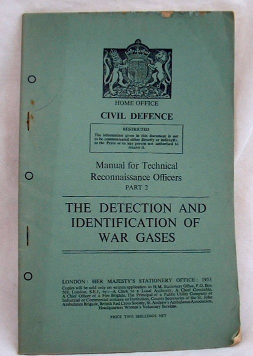 Image for The Detection and Indentification of War Gases
