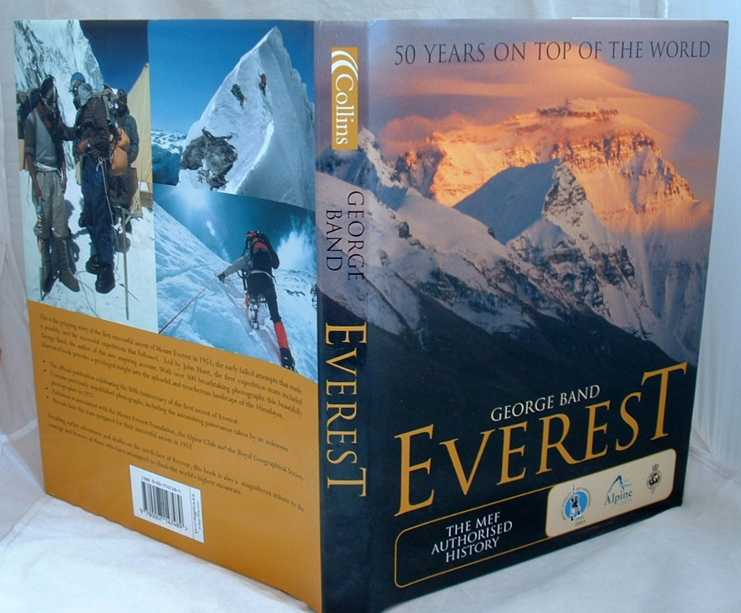 Image for EVEREST: THE MEF AUTHORISED 50TH ANNIVERSARY VOLUME: 50 years on top of the World