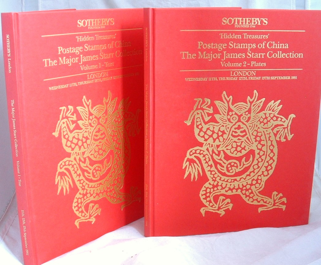 Image for Hidden Treasures Postage Stamps of China the Major James Starr Collection 2 Volumes