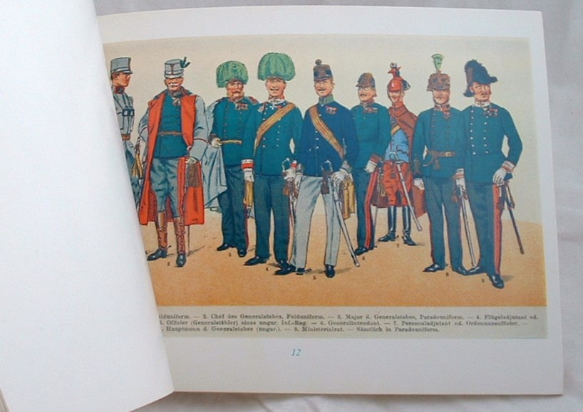 Image for Uniforms of the Imperial Austro Hungarian Army C. 1914