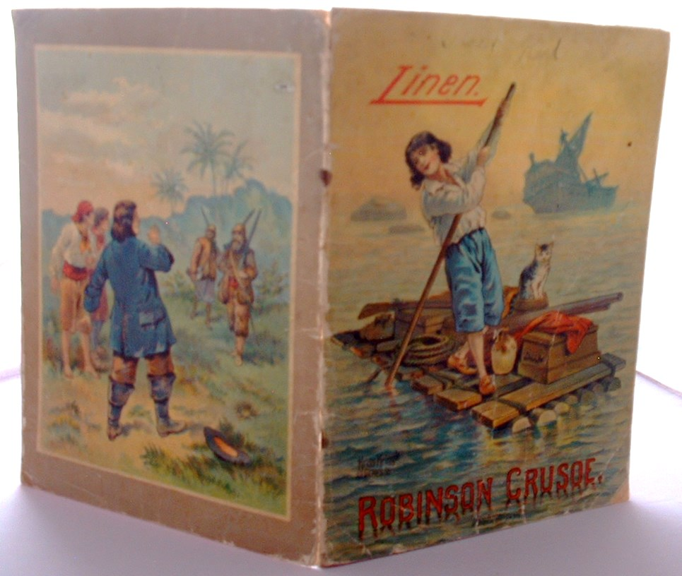 Image for Robinson Crusoe Linen Book