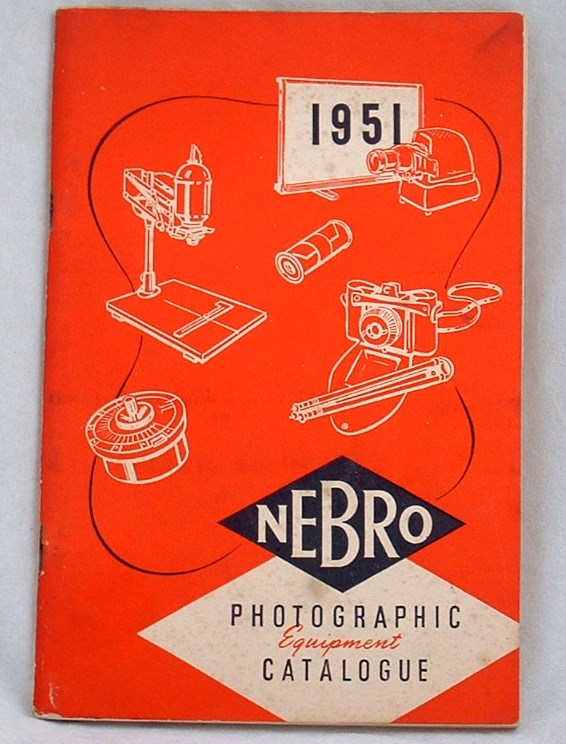 Image for Nebro Photographic Equipment Catalogue 1951