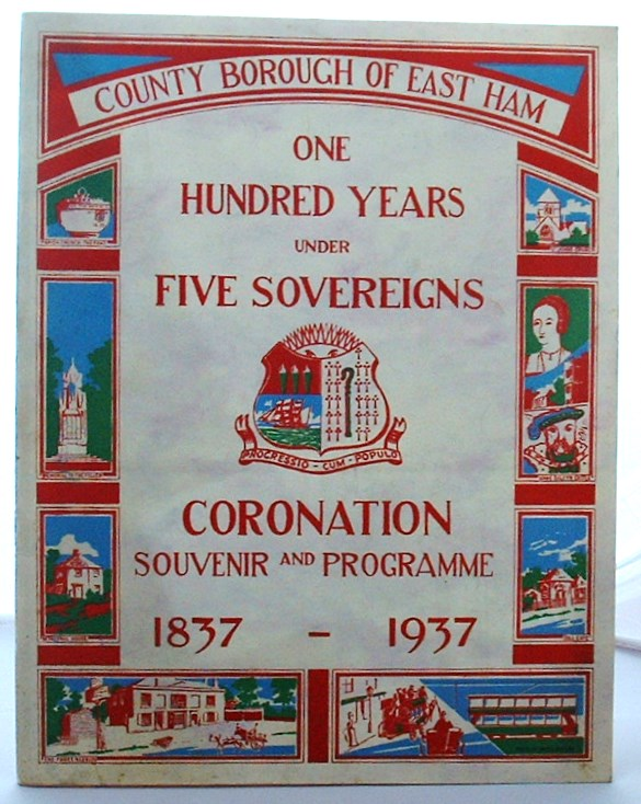 Image for One Hundred Years Under Five Sovereigns Coronation Souvenir and Programme 1837-1937