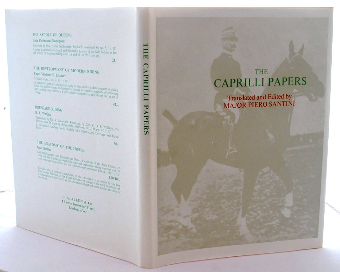 Image for The Caprilli Papers Principles of Outdoor Equitation