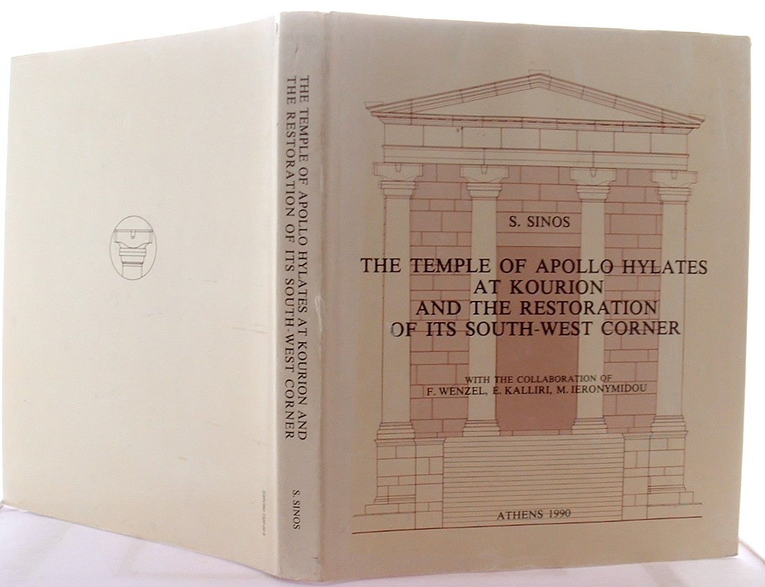 Image for The Temple of Apollo Hylates at Kourion and the restoration of its South-West corner