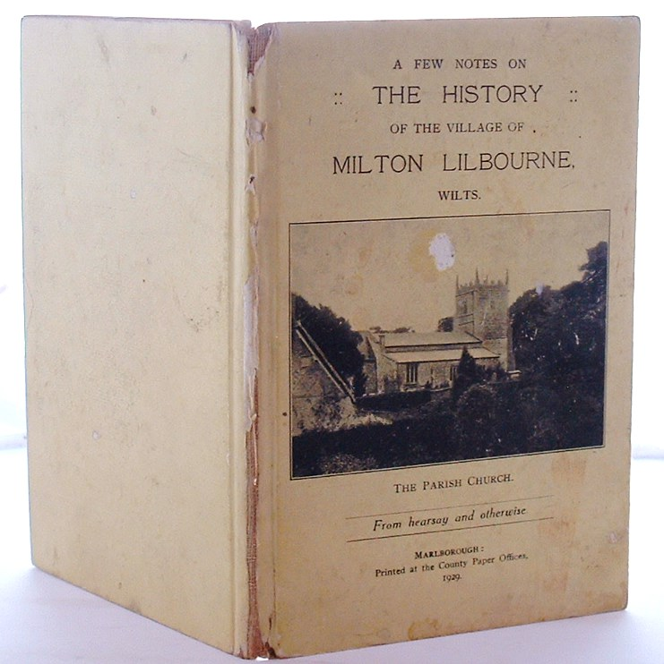 Image for A Few Notes on the History of the Village of Milton Lilbourne Wiltshire