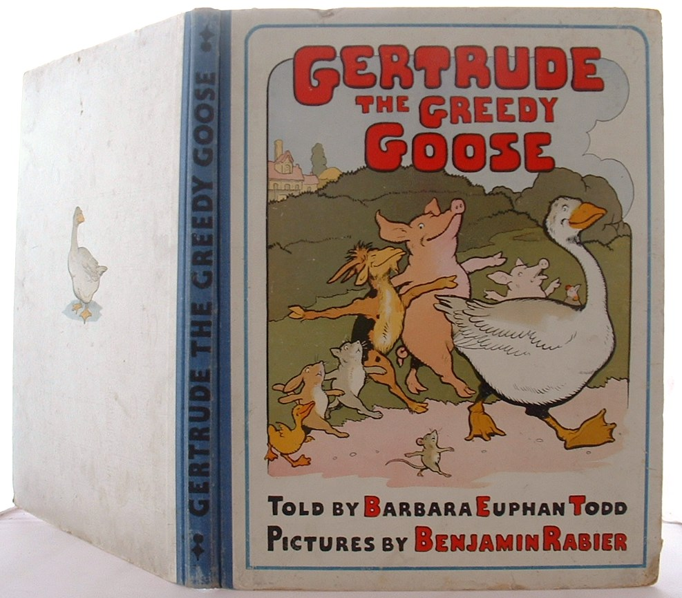 Image for Gertrude the Greedy Goose