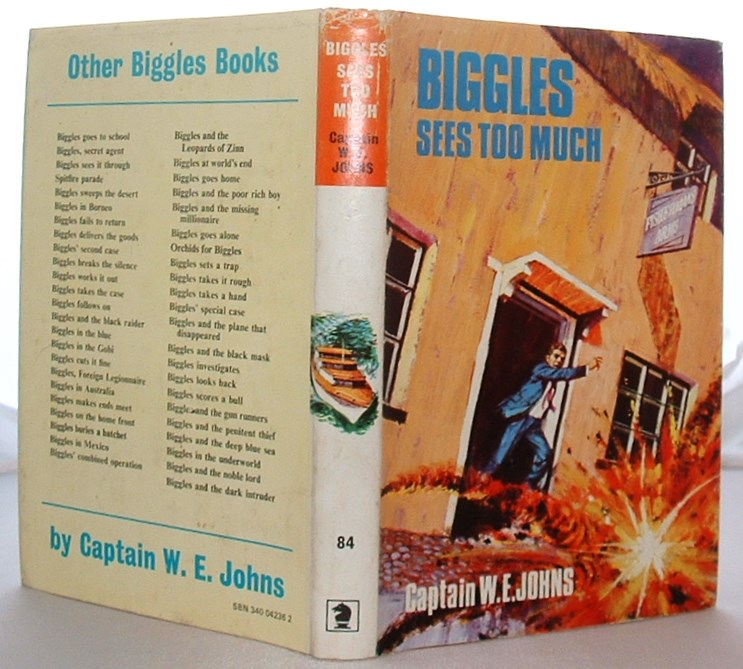Image for Biggles Sees Too Much