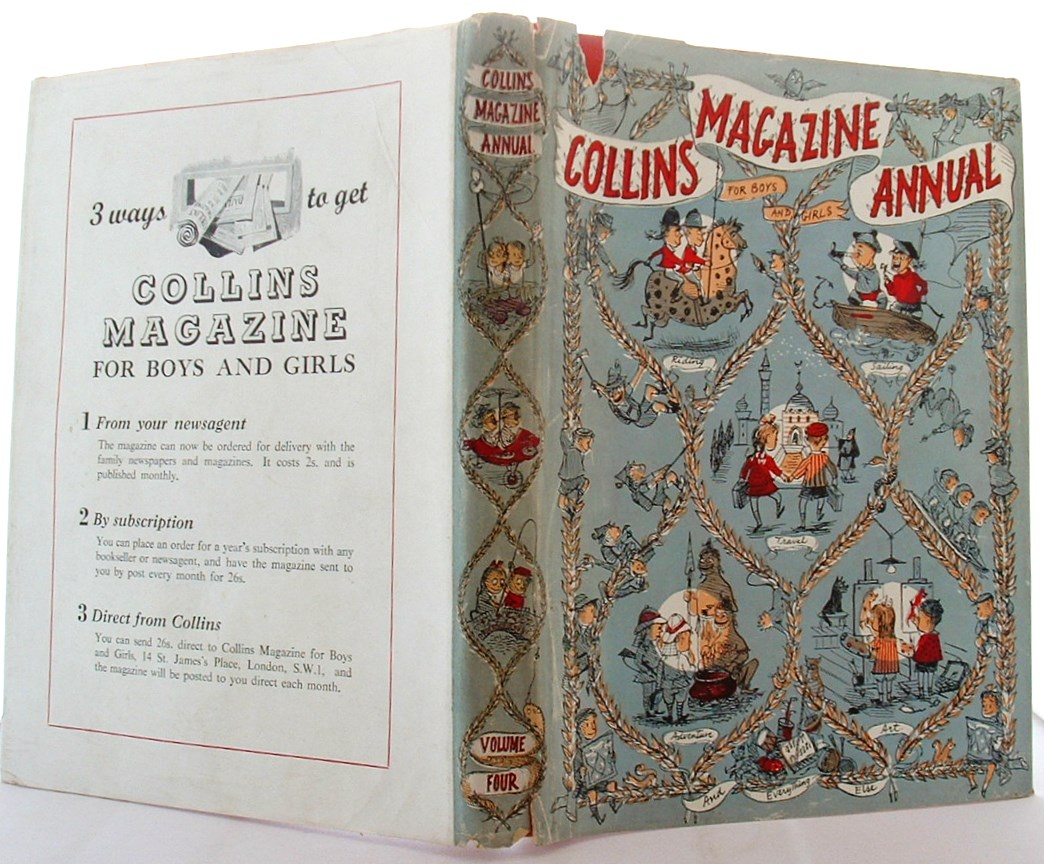 Image for Collins Magazine Annual for Boys and Girls Volume 4