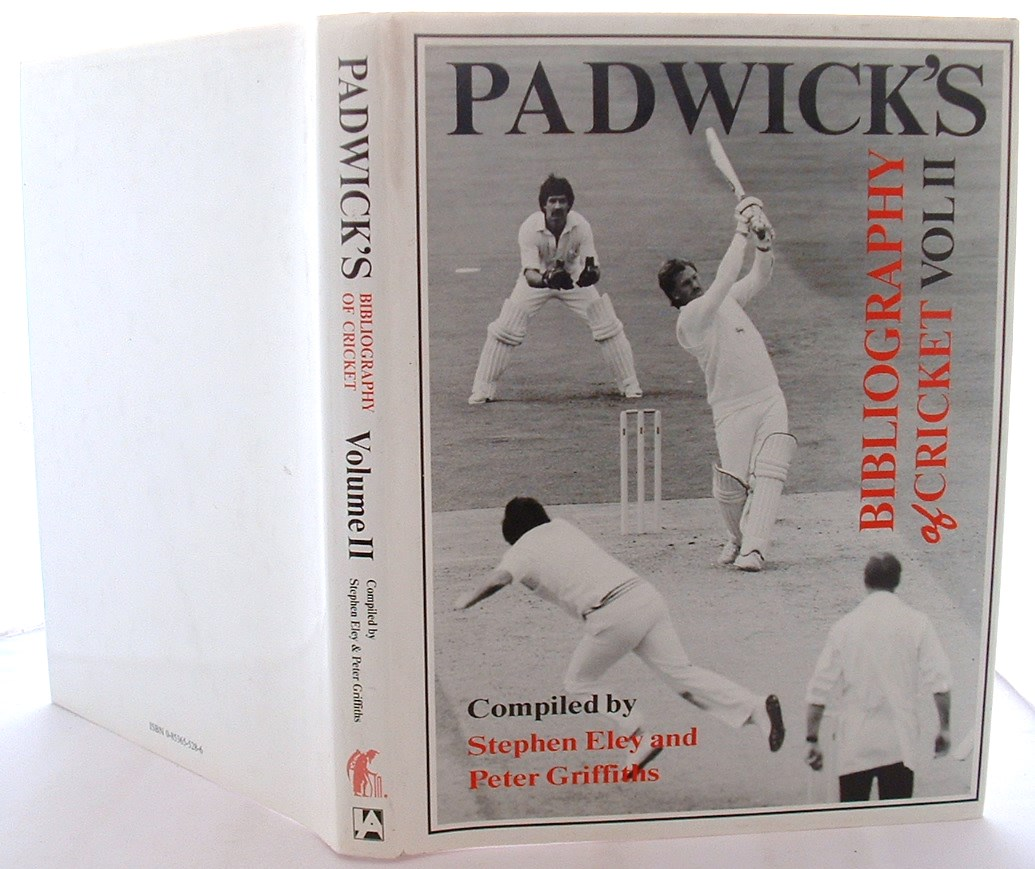 Image for Padwick's Bibliography of Cricket: v. 2