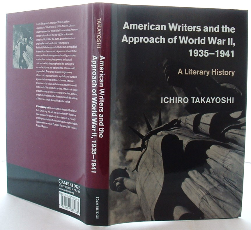 Image for American Writers and the Approach of World War II, 1935?1941: A Literary History