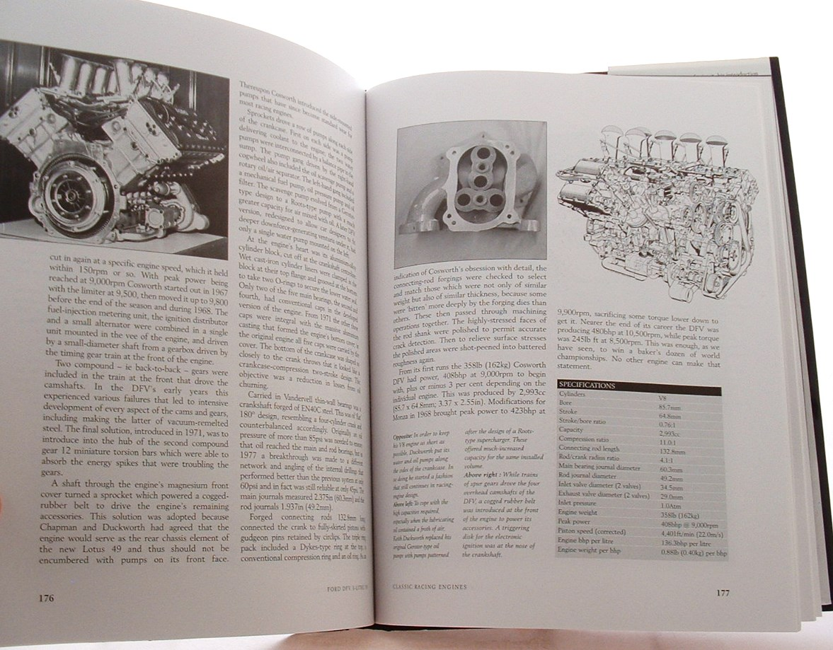 book racing engines