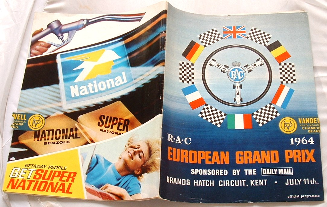 Image for European Grand Prix 1964: Official Programme
