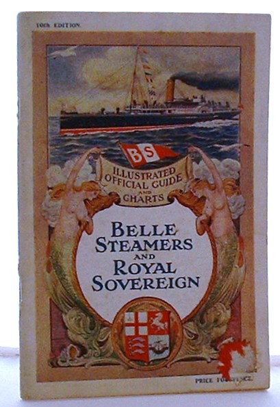 Image for Official Handbook and Guide of the Trips Made By the Belle Steamers and Royal Soverign Down the River Thames